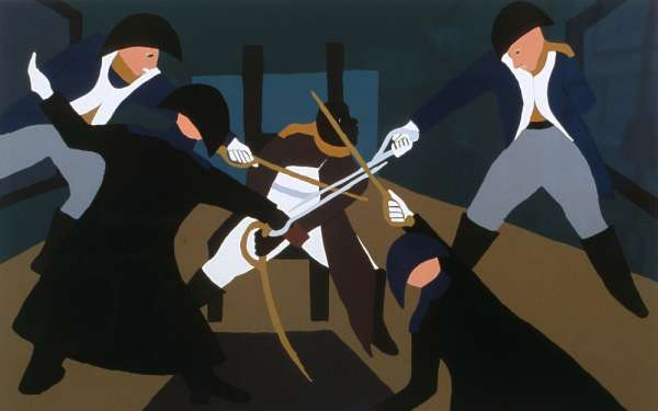 critique of jacob lawrence ironers The ironers by leah harris the ironers by jacob lawrence is one of his best scenes of harlem life this painting portrays three identical laundresses, each in alternating positions.