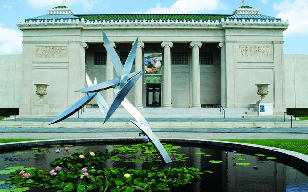 The New Orleans Museum of Art.