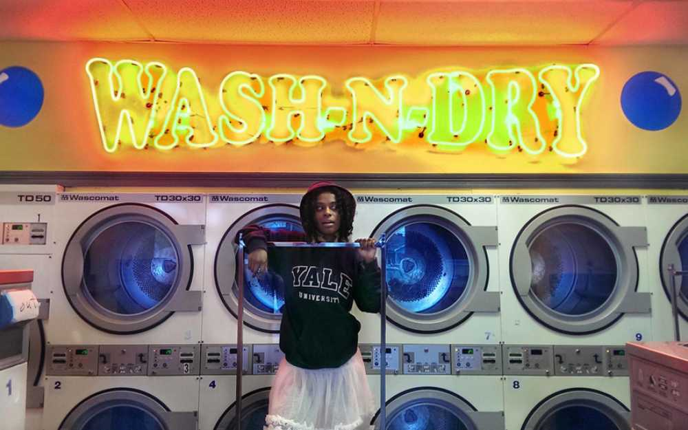 Tameka Norris, _Wash N Dry_, 2015. Digital print. Courtesy the artist; Jane Lombard Gallery, New York; and David Shelton Gallery, Houston.