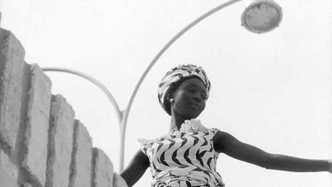 A still from director Ousmane Sembène's _Black Girl_ (1966).