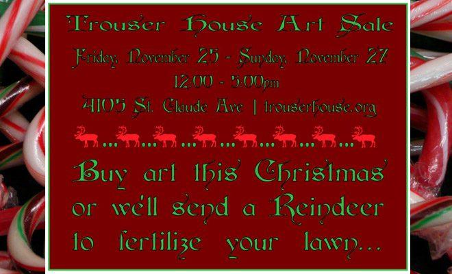 Trouser House Art Sale