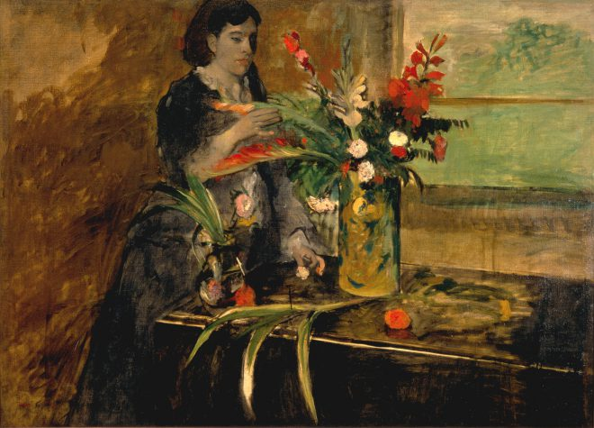Edgar Degas, _Portrait of Estelle Musson Degas_, 1872. Oil on canvas. Collection of the [New Orleans Museum of Art](https://noma.org/collection/portrait-of-estelle-musson-degas/).