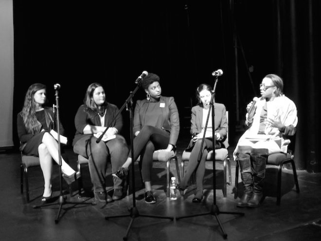 Last year's public symposium, hosted by Independent Curators International, at the Contemporary Arts Center, New Orleans.