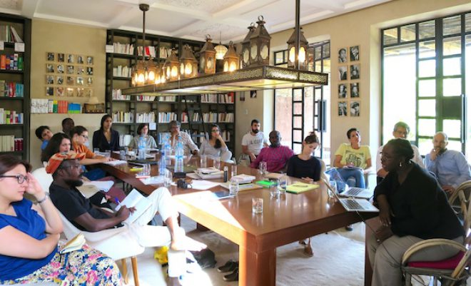 A recent Curatorial Intensive hosted by ICI.