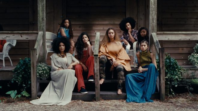 A still from Beyoncé's _Lemonade_ (2016), directed by Kahlil Joseph.