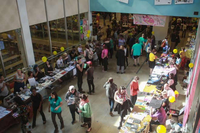 The 2015 New Orleans Comics and Zine Fest at the New Orleans Public Library.