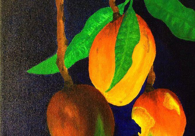Detail of a work by Deja Belardo.