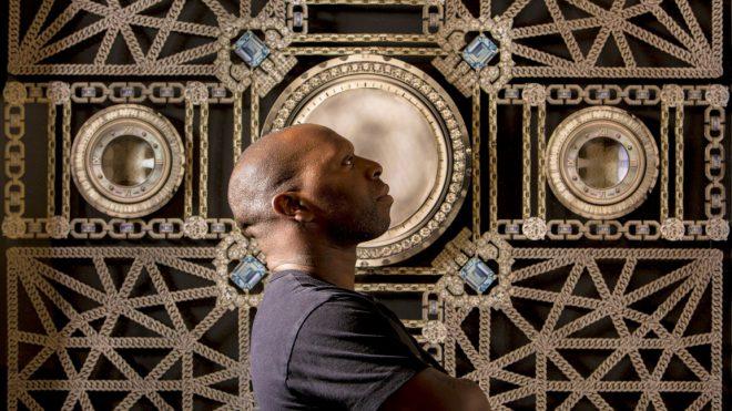 Artist Rashaad Newsome. Image via [Forbes](http://www.forbes.com/sites/courtneywillisblair/2015/07/20/rashaad-newsome/#5fc1b2e961a8).