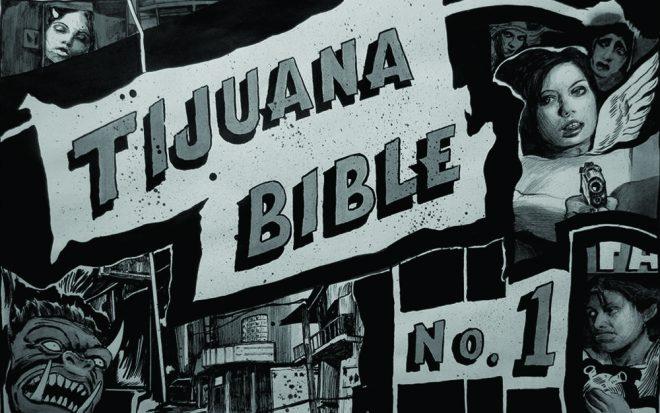 A still from Hugo Crosthwaite's _Tijuana Bible No. 1_, 2017. Courtesy the artist and Jonathan Ferrara Gallery, New Orleans.