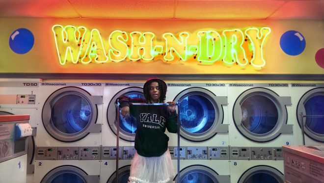 Tameka Norris, _Wash N Dry_, 2015. Digital print. Courtesy the artist and David Shelton Gallery, Houston.