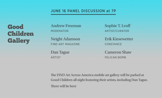 FIND Art Panel Discussion