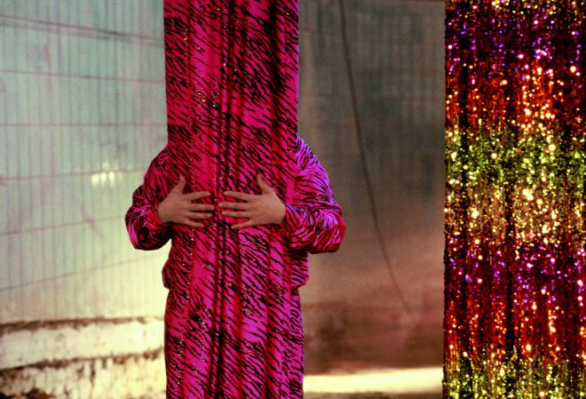 Still from Pauline Boudry and Renate Lorenz's, _Opaque_, 2014.