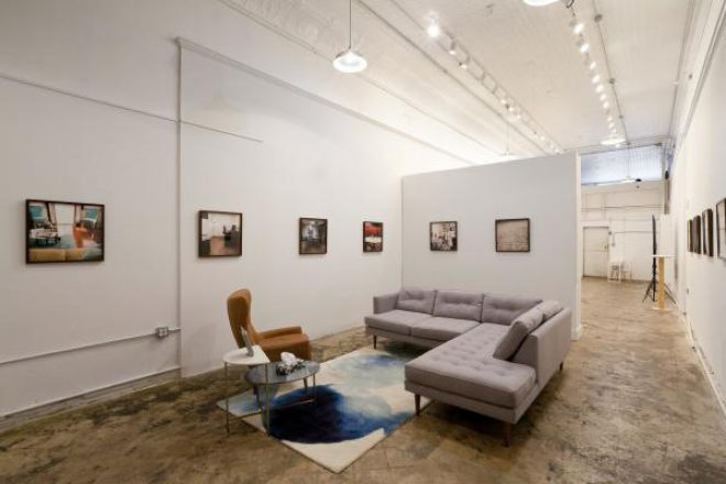 "Installation view of ""Mutual Support"" at Pelican Bomb Gallery X. Courtesy Pelican Bomb, New Orleans. Photo by Jonathan Traviesa."