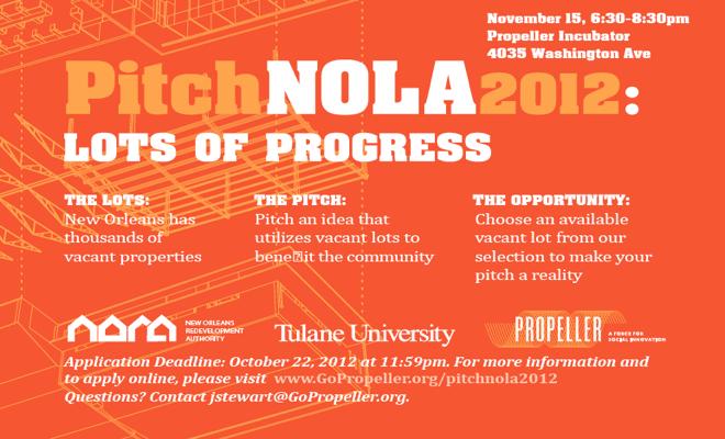 PitchNOLA: Lots of Progress