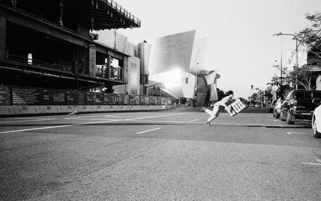 Tada Kono, _Documentation of PICKERS at LA Museum of Contemporary Art_, 2014. Courtesy the artist.
