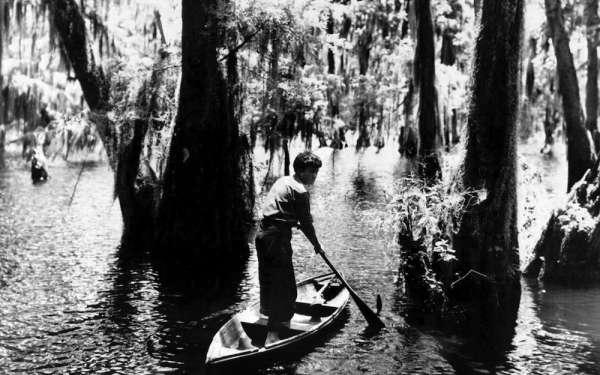 A still from director Robert J. Flaherty's _Louisiana Story_ (1948).