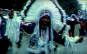 A still from director Royce Osborn's _All on a Mardi Gras Day_ (2003).