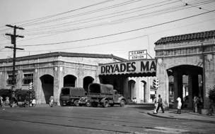 The historic Dryades Market buildings, which are now the Peoples Health New Orleans Jazz Market and the Southern Food and Beverage Museum.