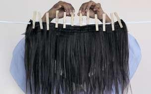 Nakeya Brown, _The Art of Drying_, 2014. Courtesy the Artist.