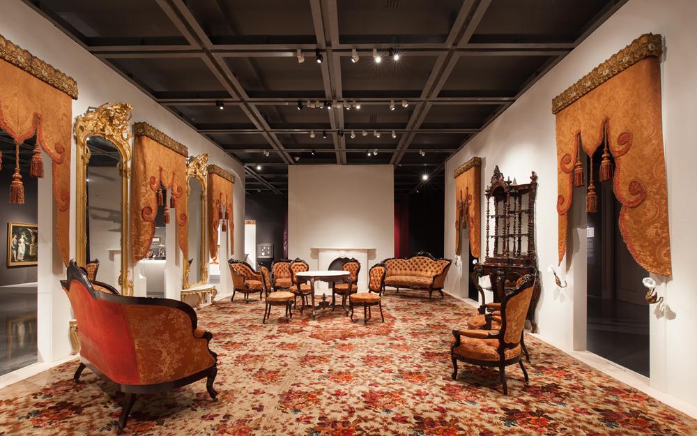 Rococo Revival Louisiana Parlor New Orleans Museum Art