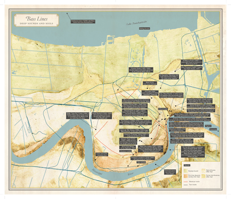 """Mapping New Orleans: The Broadsides of """"Unfathomable City"""" · Pelican ..."""